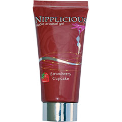 Hottproducts Nipplicious Nipple Gel, 1 Fl Oz, Strawberry Cupcake