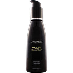 Wicked Sensual Care Aqua Sensitive Water Based Lube 4 fl. oz