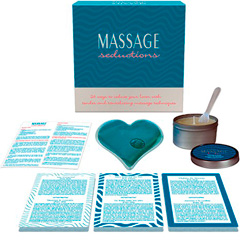 Massage Seductions Game for Lovers by Kheper Games