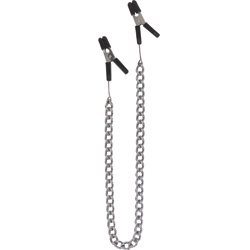 Spartacus Endurance Jumper Cable Nipple Clamps with Link Chain