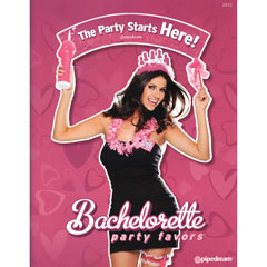 Pipedream Bachelorette Party Favors 2012 Catalog