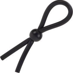 CalExotics Dr. Joel Kaplan Erection Enhancing Rubber Lasso Ring, Black