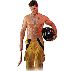 Filthy Fireman Inflatable Love Doll