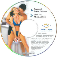 Advanced Sexual Positions And Great Sex 7 Days a Week DVD