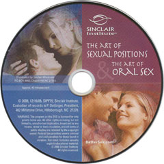 Art of Sexual Positions and the Art of Oral Sex DVD