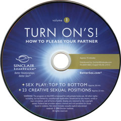Turn Ons: Vol. 1 How to Please Your Partner DVD