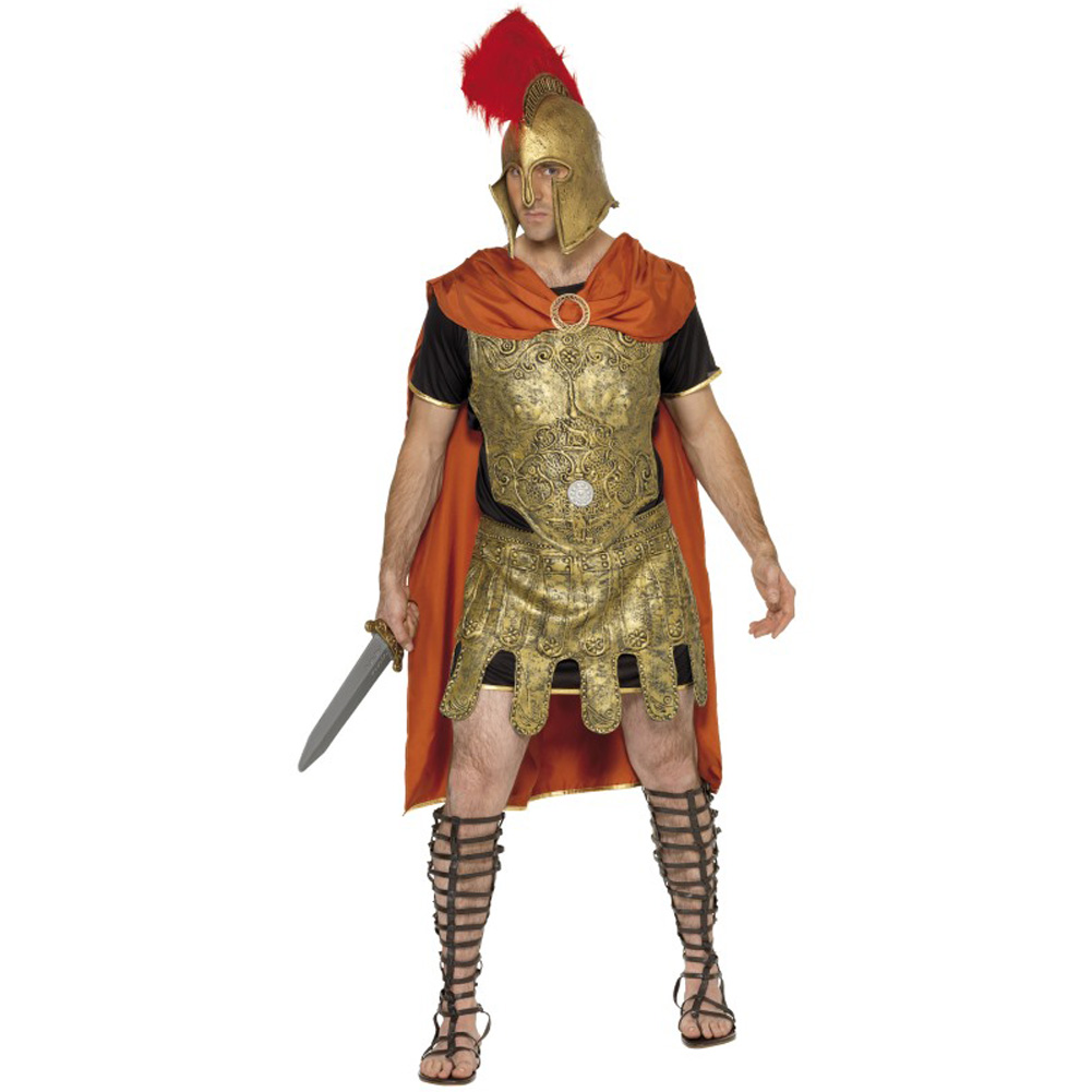 Roman Soldier Tunic Costume, Medium