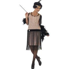 1920s Coco Flapper Costume, Medium