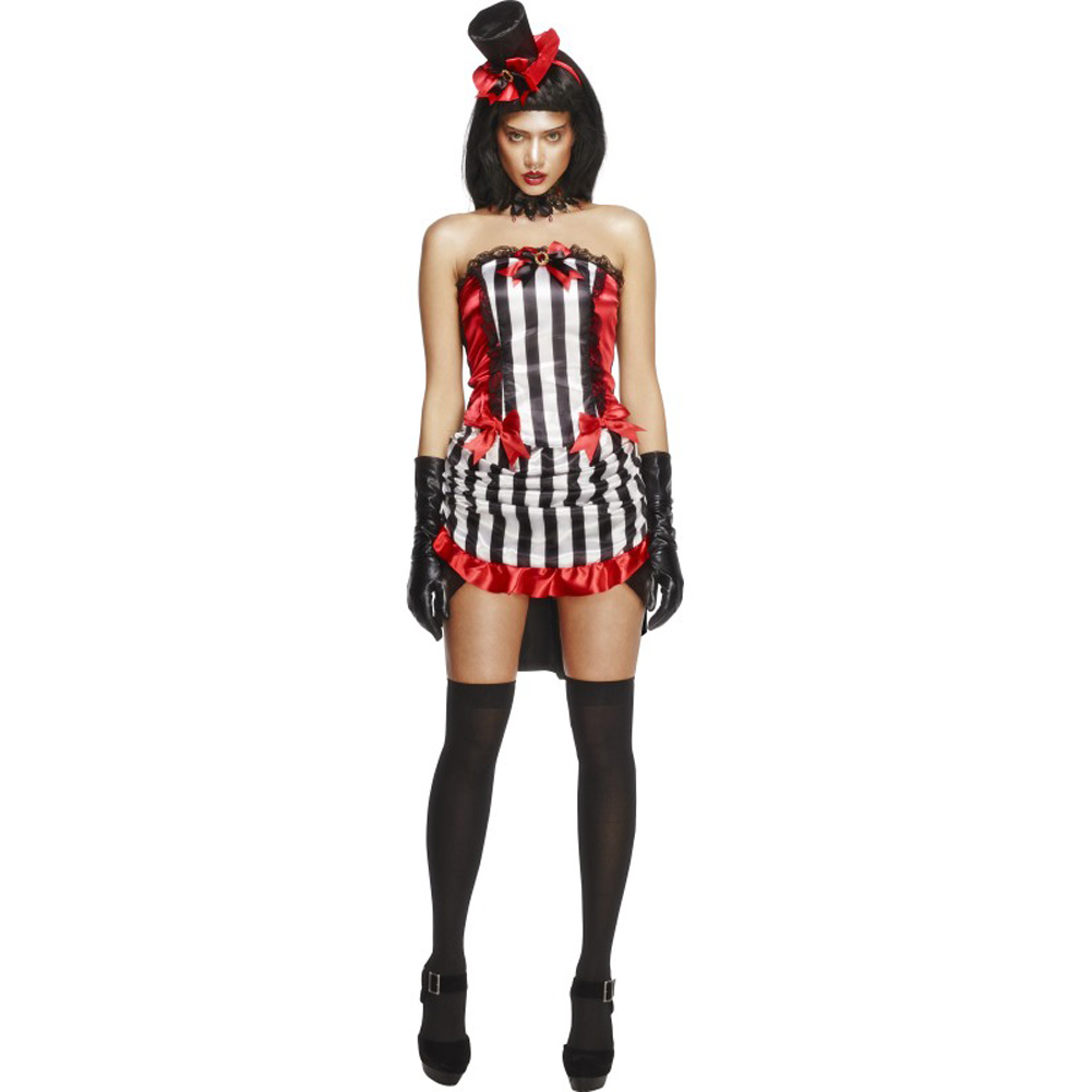 Fever Madame Vamp Costume, Medium, Black