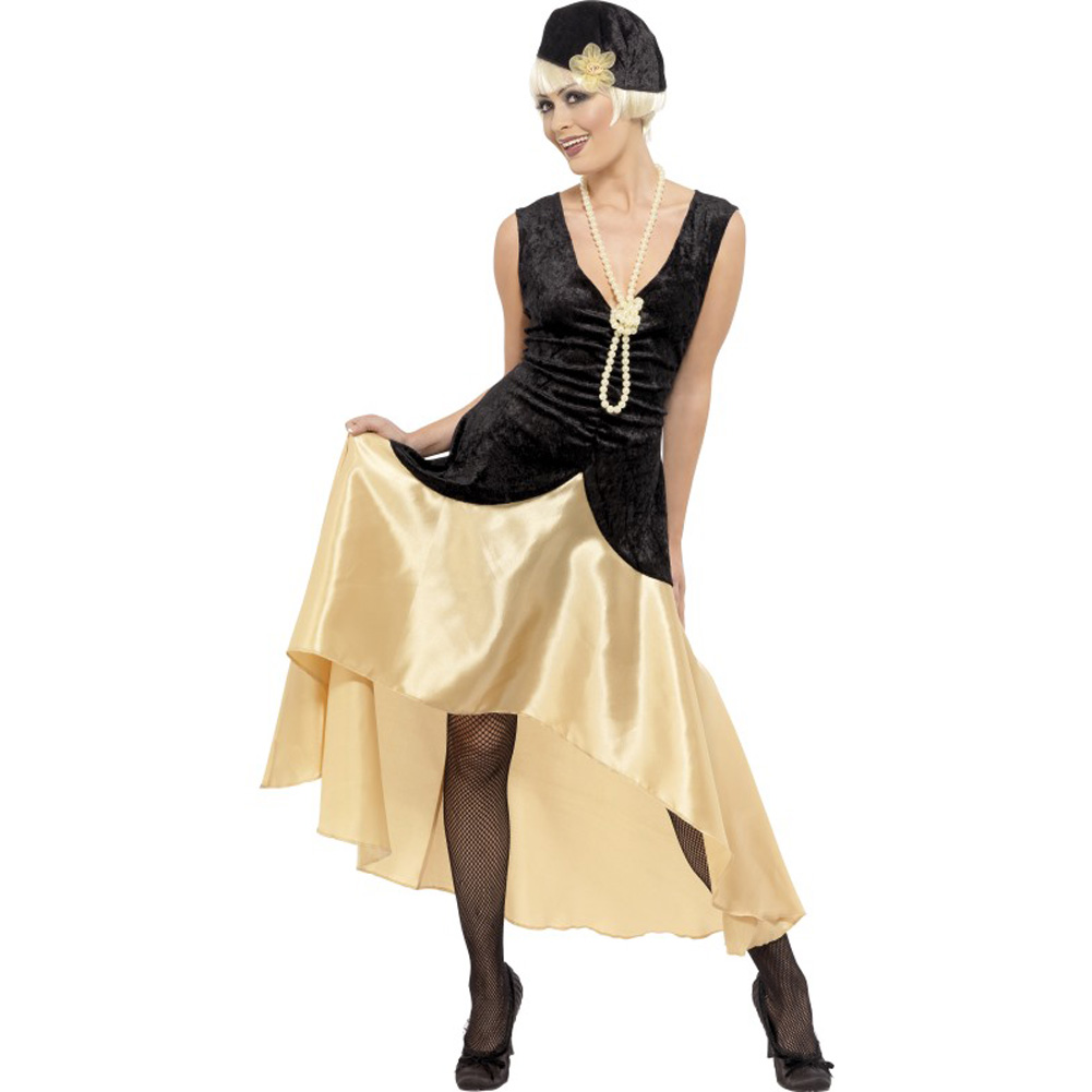 20s Gatsby Girl Costume, Plus Size 1X