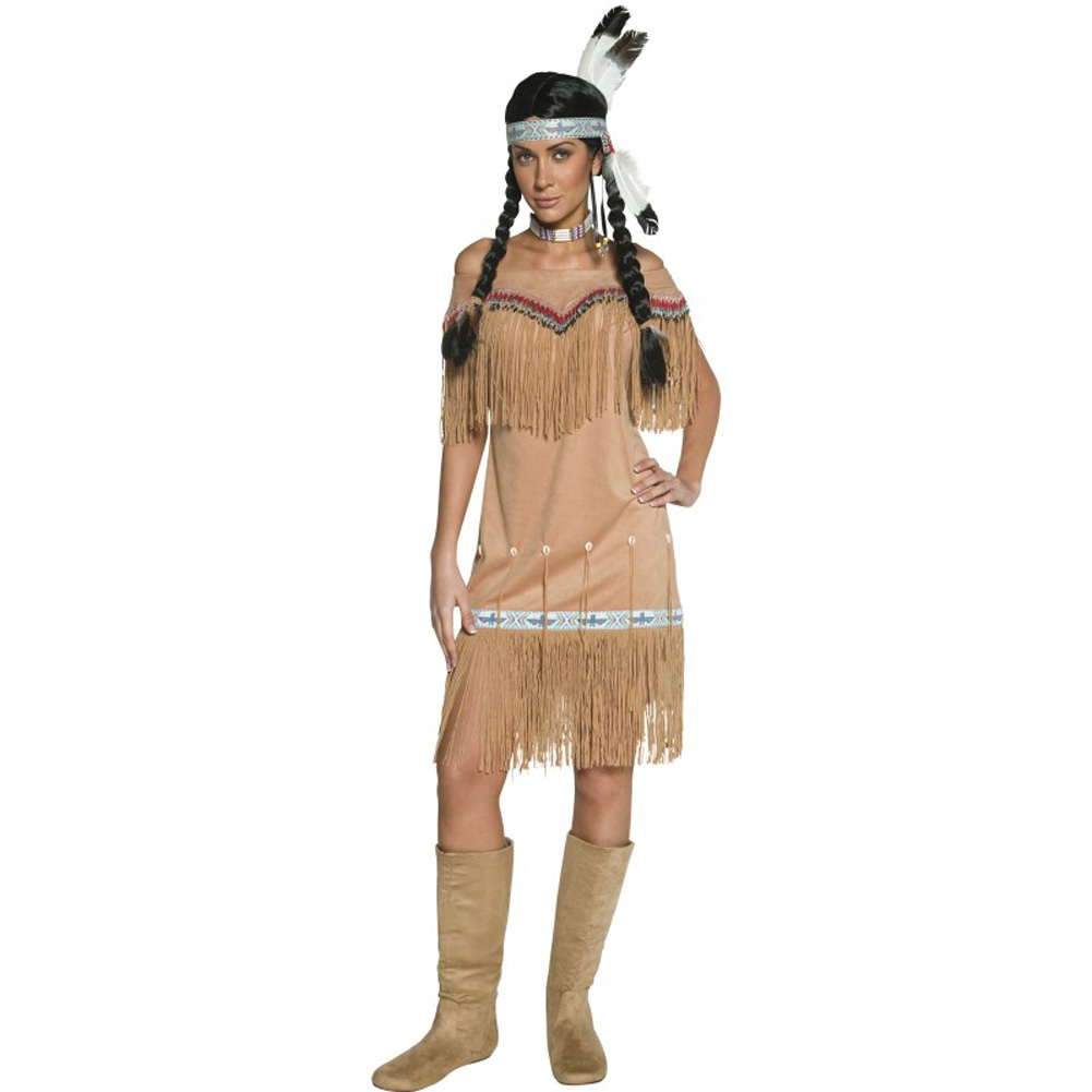 Native American Inspired Lady Costume
