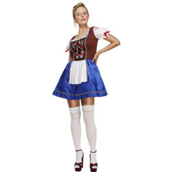 Fever Dirndl Costume, Small