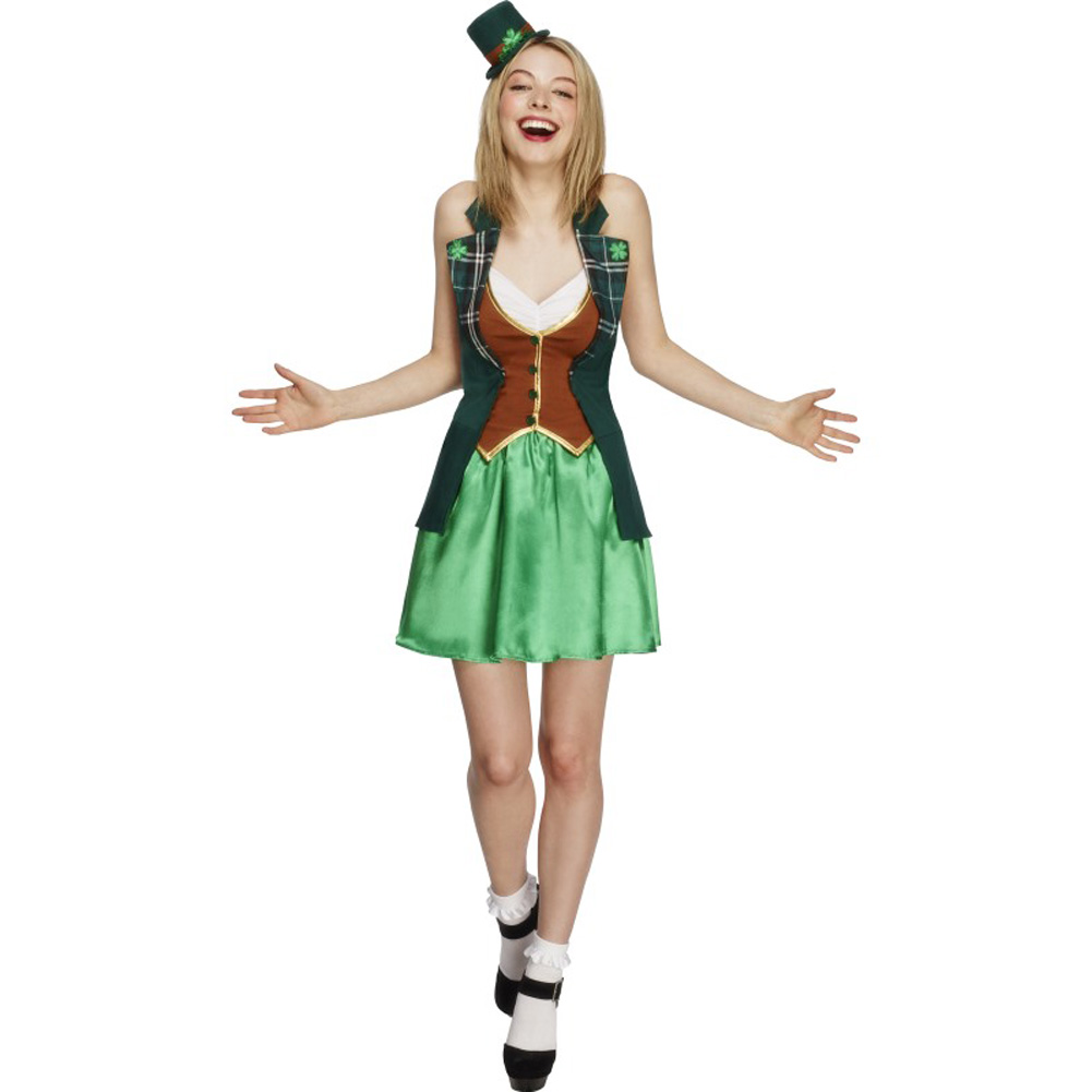 Fever St Patricks Costume, with Jacket, Large