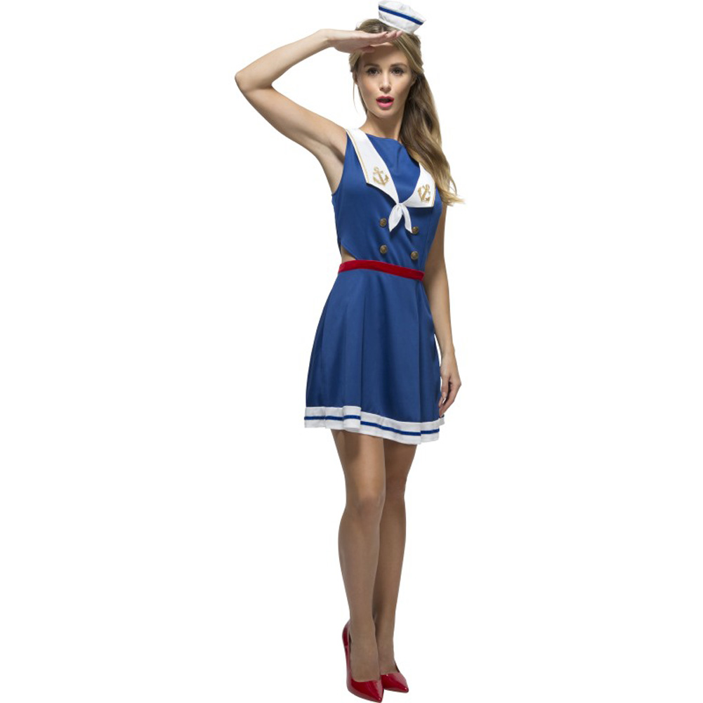 Fever Hey Sailor Costume, Extra Small