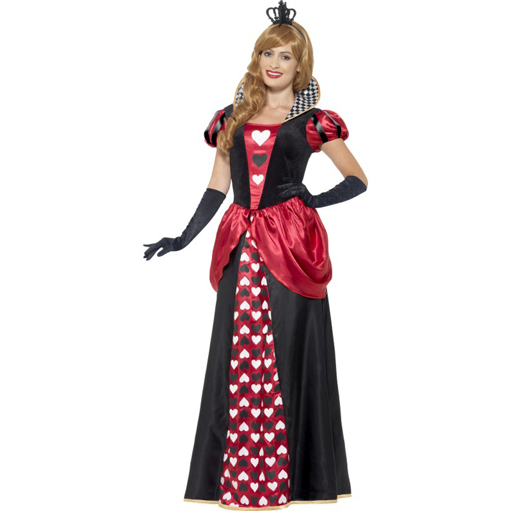 Royal Red Queen Costume, Plus Size 2X