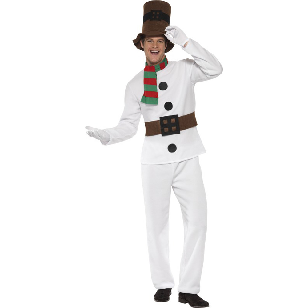 Mr Snowman Costume, Large