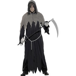 Grim Reaper Robe Costume, Large