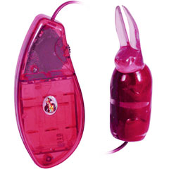 Rabbit Egg Multispeed Vibrating Bullet Stimulating Ears, 4 Inch, Pink