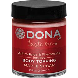 Dona Body Topping - Maple Sugar - 2 Oz.
