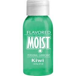 Moist Flavored Lubricant, Water Based, 1 Oz, Kiwi
