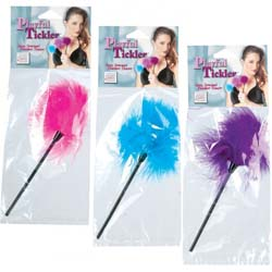 California Exotics Playful Tickler, 9 Inch, Assorted Colors