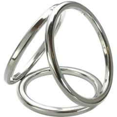 SI Novelties Metal Cage for Men, Small (1.25``, 1.5``, and 1.75`` Rings)