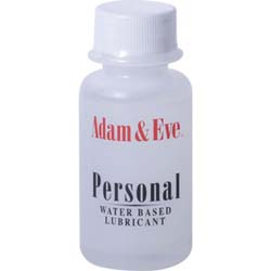 Adam and Eve Personal Water-Based Lubricant, 1 fl.oz (30 mL)