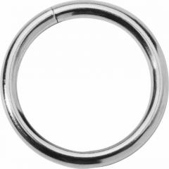 Spartacus Nickel Cock Ring, 1.75 Inch, Silver