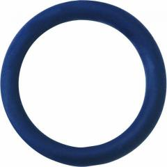 Spartacus Soft Rubber Cockring, 1.25 Inch, Blue