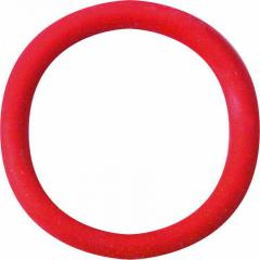Spartacus Soft Rubber Cockring, 1.25 Inch, Red