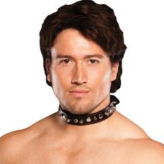 Xplay Spiked Collar Black