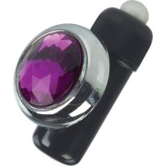 California Exotic Precious Gem Panty Pal Bullet Vibrator, Purple