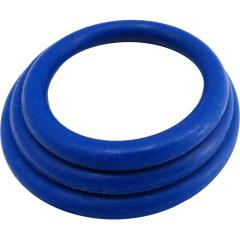 M2M Nitrile Cock Ring 3 Piece Pack, Dark Blue