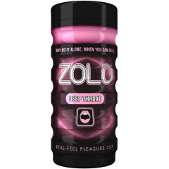 Zolo Deep Throat Premium Real-Feel Pleasure Cup Masturbator for Men