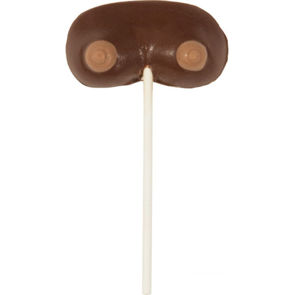 Small Rack Boobs On a Stick Milk Chocolate