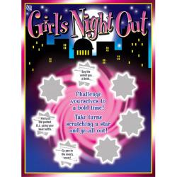 Girls Night Out Lotto Ticket