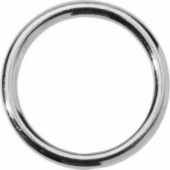 Spartacus Nickel Cock Ring, 1.5 Inch, Silver