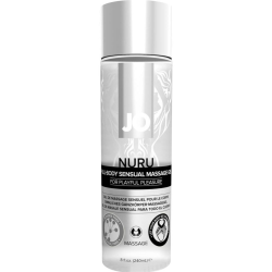 System JO Nuru Full Body Sensual Massage Gel, 8 fl.oz (240 mL)