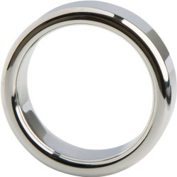 Malestation Metal Professional Cock Ring, 38mm, Silver