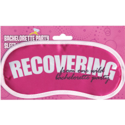 Bachelorette Party Sleep Mask Recovering