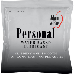 Adam and Eve Personal Water-Based Lubricant, 2.5 mL Foil Pack