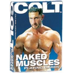 COLT by CalExotics Naked Muscles Playing Cards