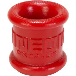 Oxballs Neo Stretch Silicone Tall Ball Stretcher, Red