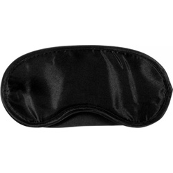 Simply Pleasure Kinx Tease and Please Padded Satin Blindfold, Black