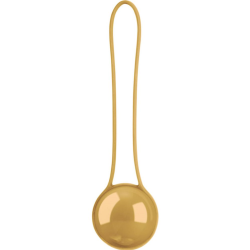Shots Toys Pleasure Ball Deluxe Single Excercise Ball Gold