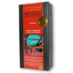 L.A Confidental Secret Passion 12 Piece Pack Latex Condoms