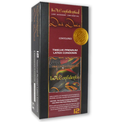 L.A Confidental Dark Desire 12 Piece Pack Latex Condoms