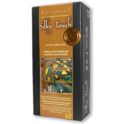 L.A Confidental Silky Touch 12 Piece Pack Latex Condoms