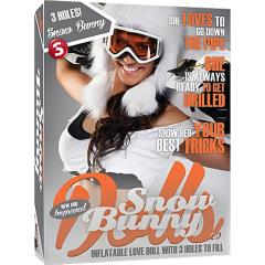 Shots Toys Snow Bunny Inflatable Love Doll
