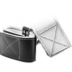 Reversible Ankle Cuffs White